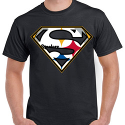Superman Steelers - Unisex Gildan Ultra Cotton T-Shirt