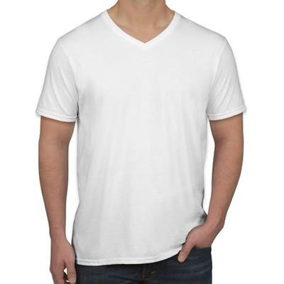 Gildan Softstyle V-Neck Jersey T-shirt (WEB/MM) Thumbnail