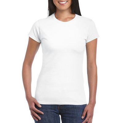 Fitted Softstyle Cotton Ladies T-shirt- (NRS) Thumbnail