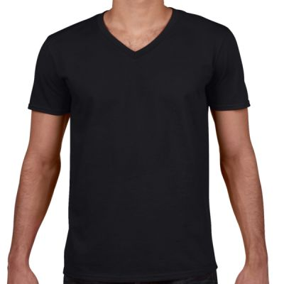 Softstyle V-Neck Jersey T-shirt (NRS) Thumbnail