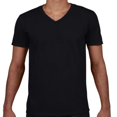 Softstyle V-Neck Jersey T-shirt (CA1) Thumbnail