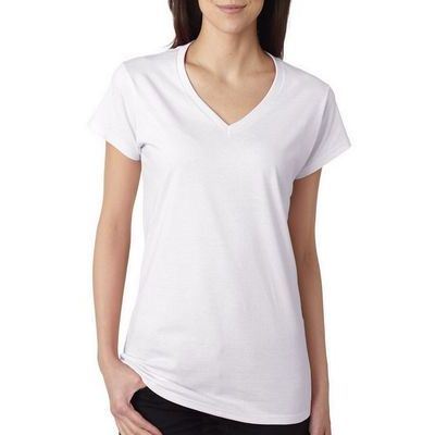 Ladies Softstyle Fit V Neck T Shirt (CA1) Thumbnail